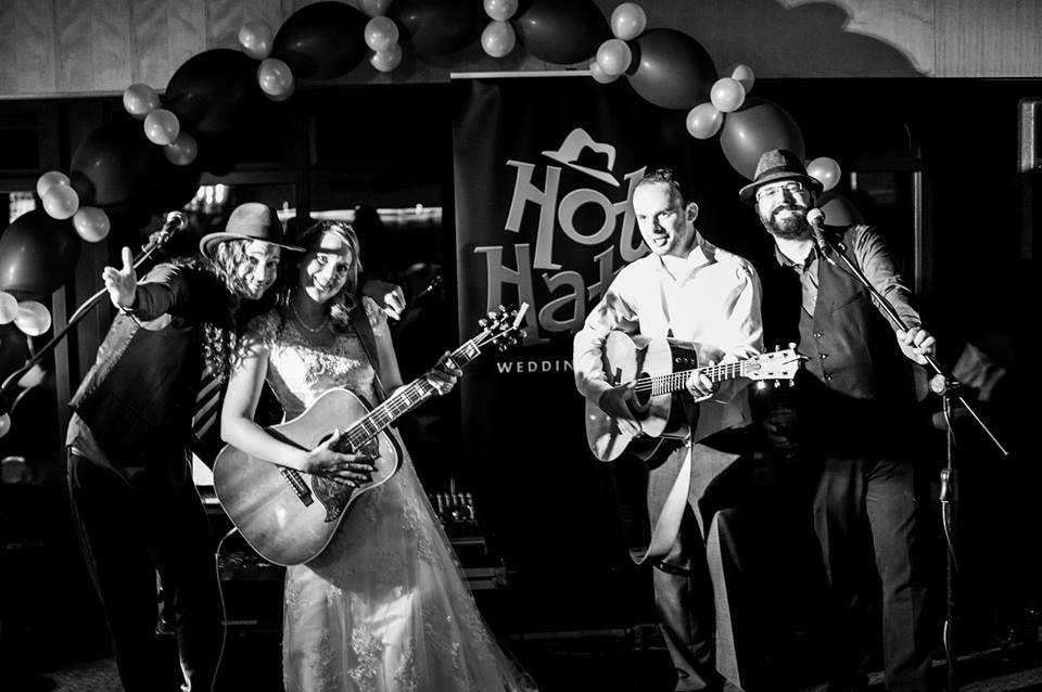 Testimonials for the Hat Hats acoustic wedding duo by Sarah Hanson